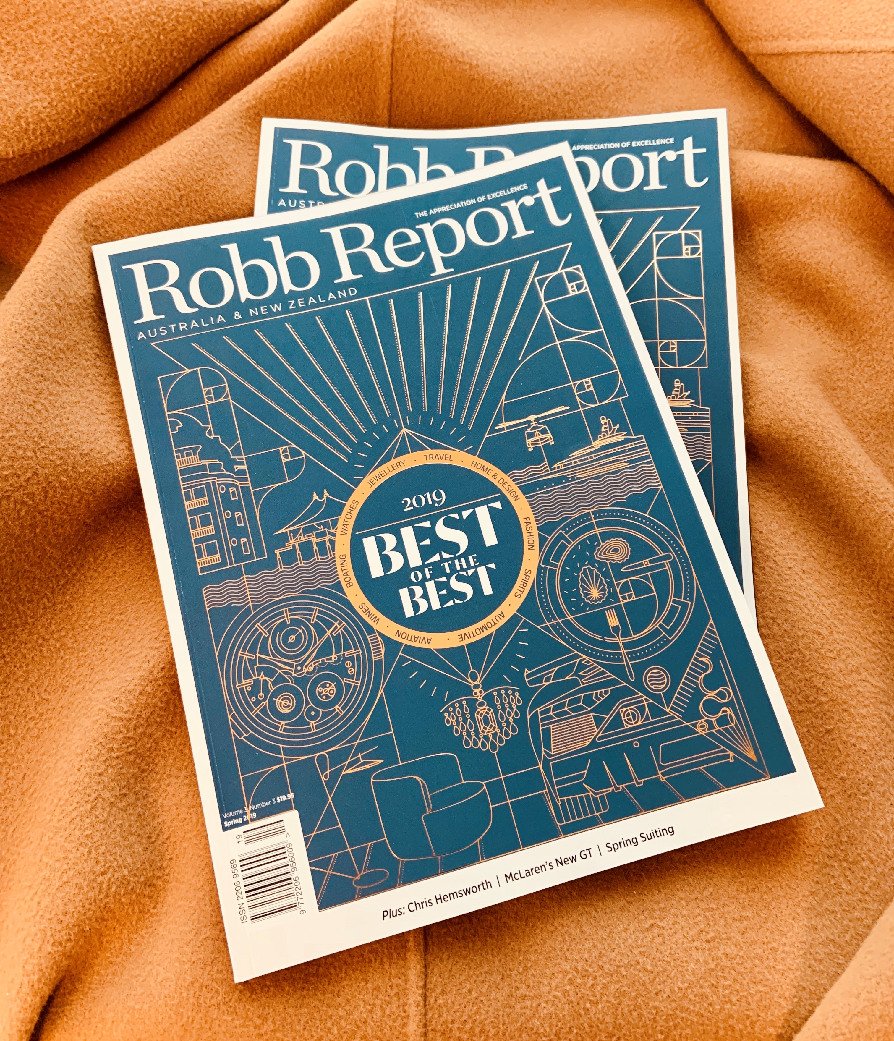 Robb Report ANZ Spring Issue