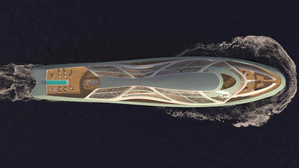 Superyacht Submarine Concept