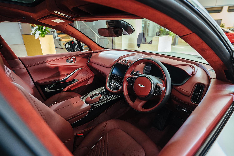 Long Awaited Aston Martin Dbx Unveiled To Australian Market