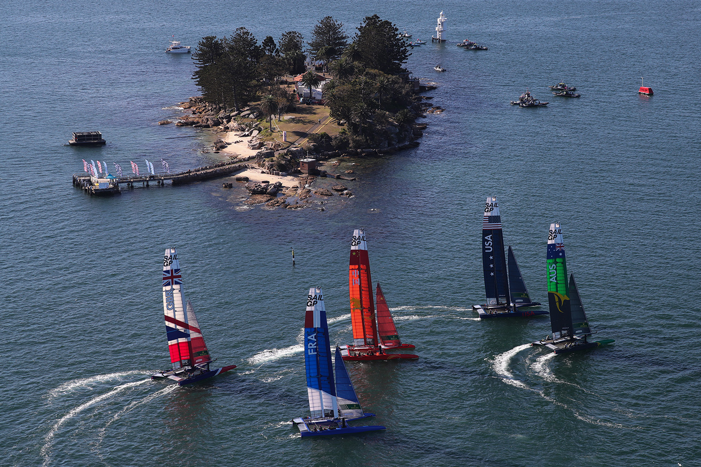 SailGP Races Around Sydney Harbour This Weekend