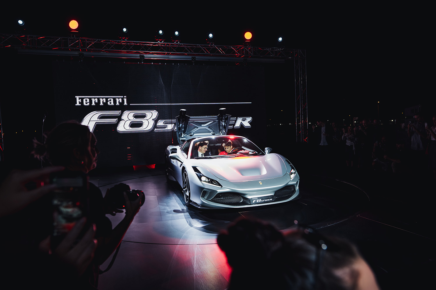 A First Look At Ferrari's F8 Spider