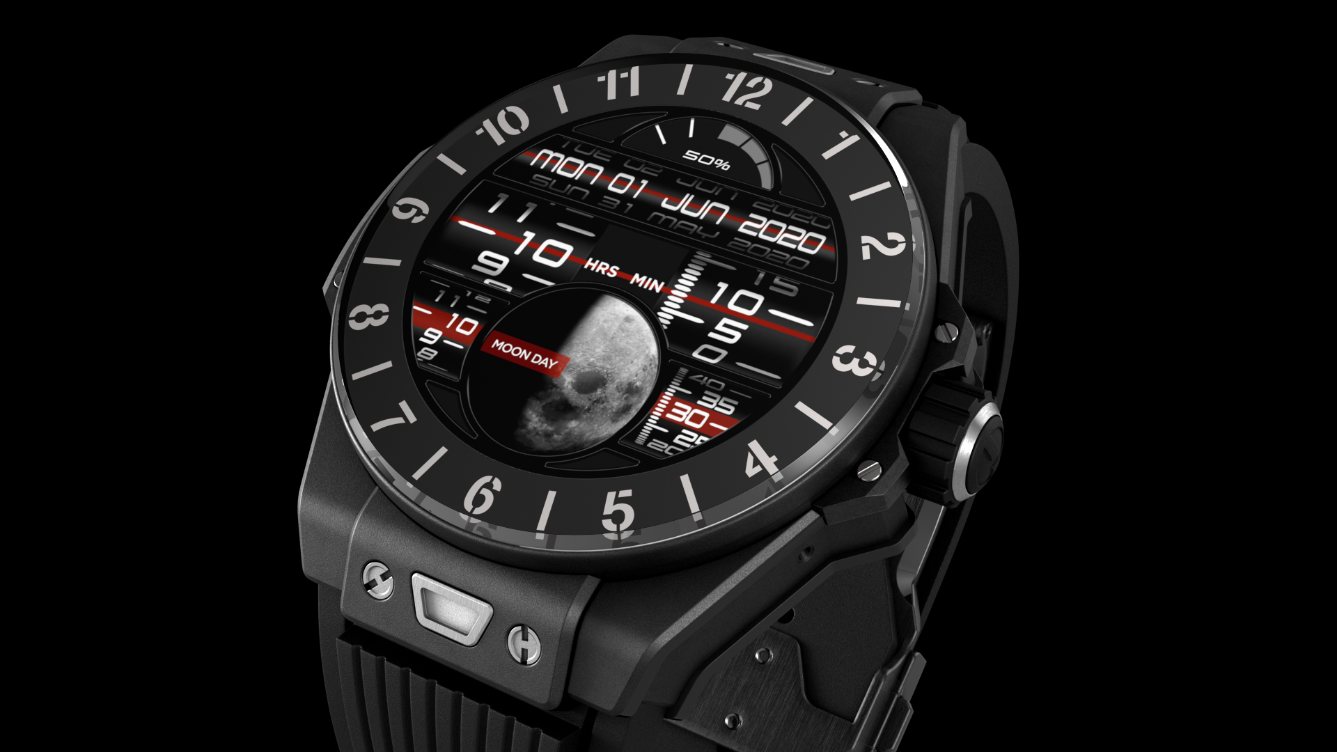 Hublot Smartwatch Black Ceramic