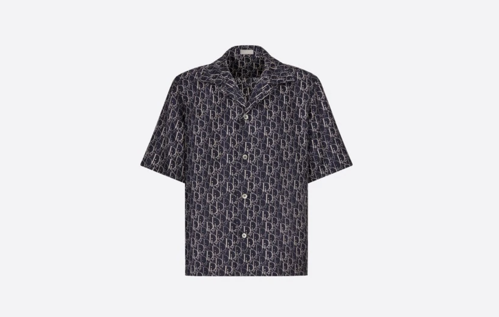 Dior Oblique Hawaiian Beaded Shirt