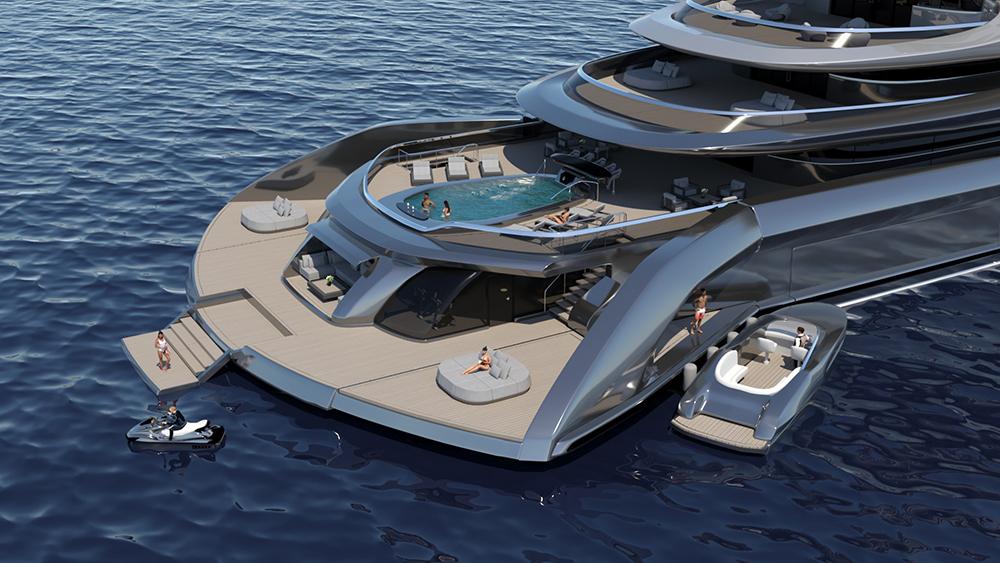 Indah Megayacht Concept Beach Club
