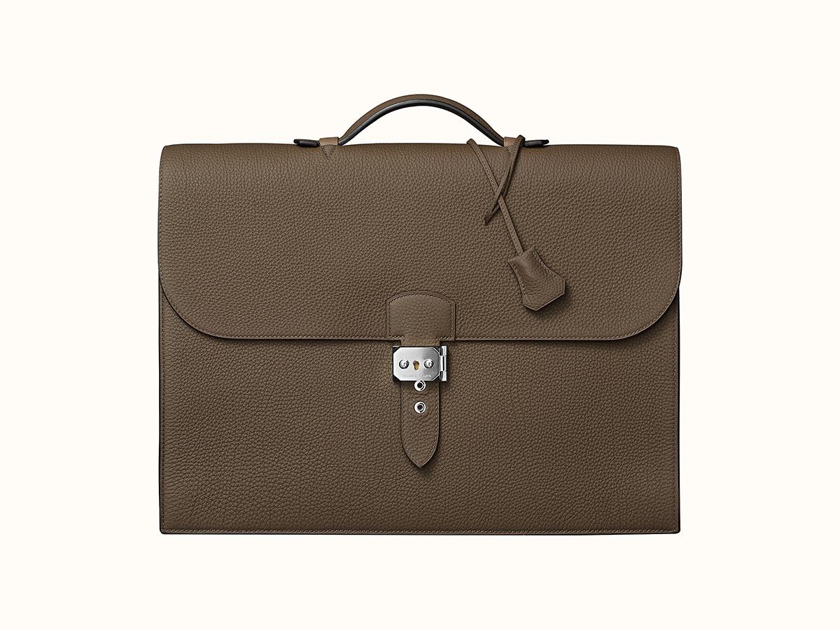 Hermes Luxury Briefcase